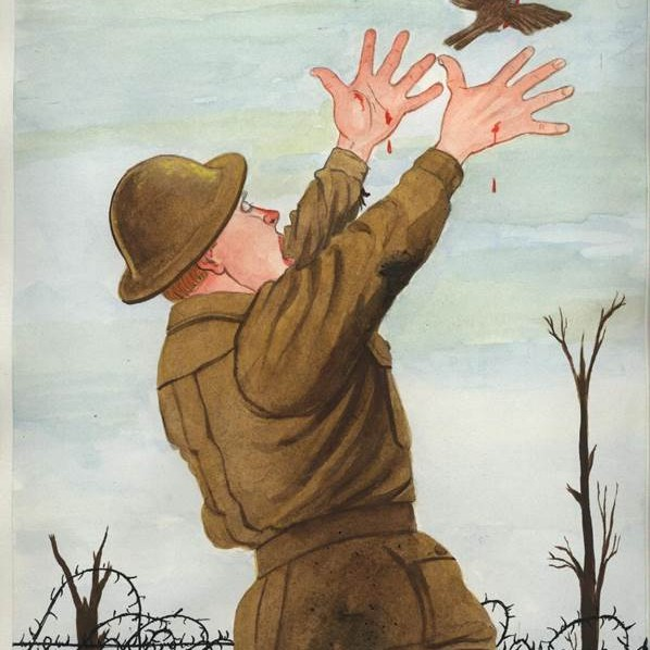 In Flanders Fields ISBN 9781920731038 Paperback picture book Illustrated by Brain Harrison-Lever $15.00. 32 pages. (297 x 224 x 4) Fremantle Press Publisher. Years 2002, 2004, 2008, 2014.