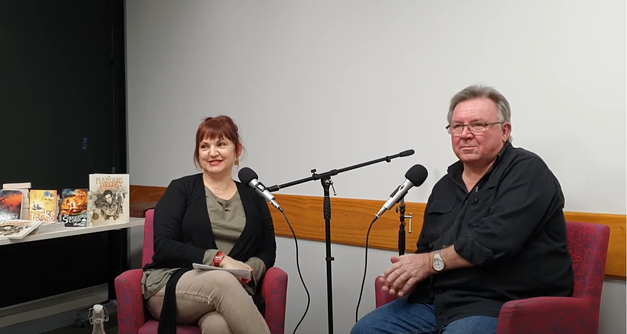 Literary Salon with Norman Jorgensen - Bassendean Memorial Library